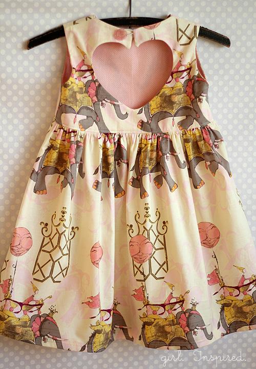 Sweetheart Dress Pattern for Girls - Cute Kids Finds