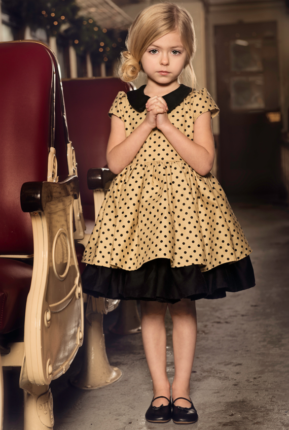 Persnickety Clothing Josephine dress 1