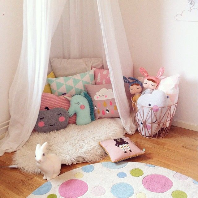 & Inspiration for Girls Bedroom: A Reading Nook - Cute Kids Finds