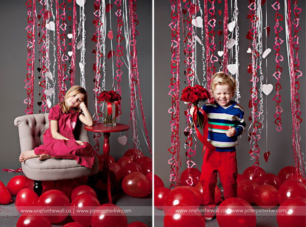 20 Lovely Ideas For Valentineu0027s Day Photo Shoot With Kids