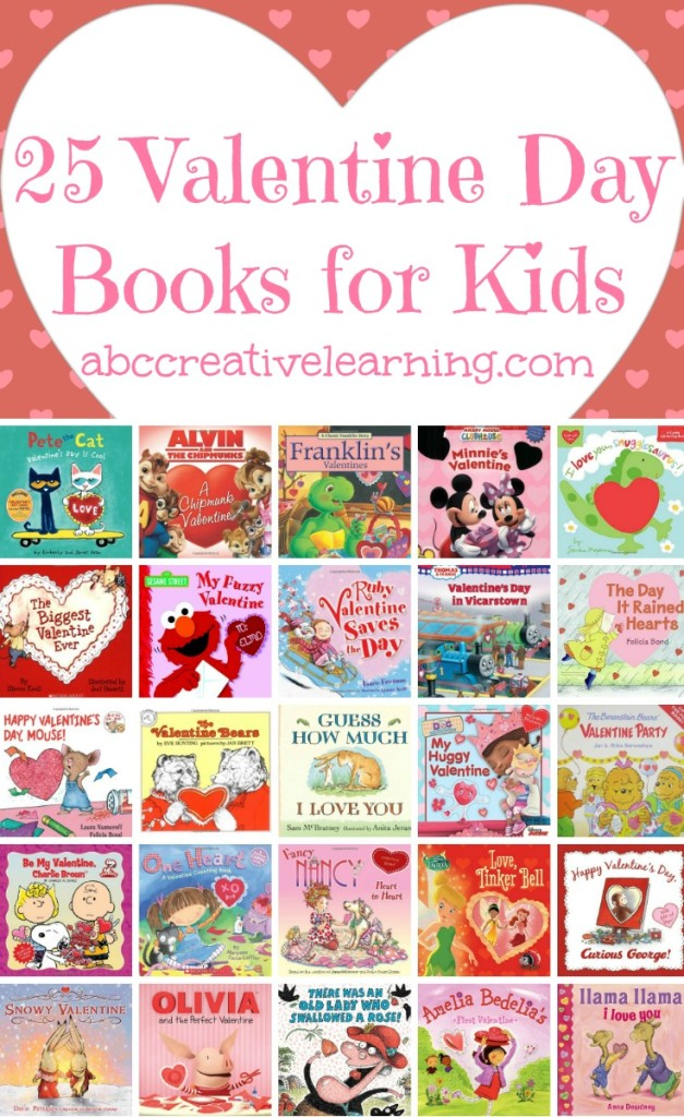 25 valentines day books for kids