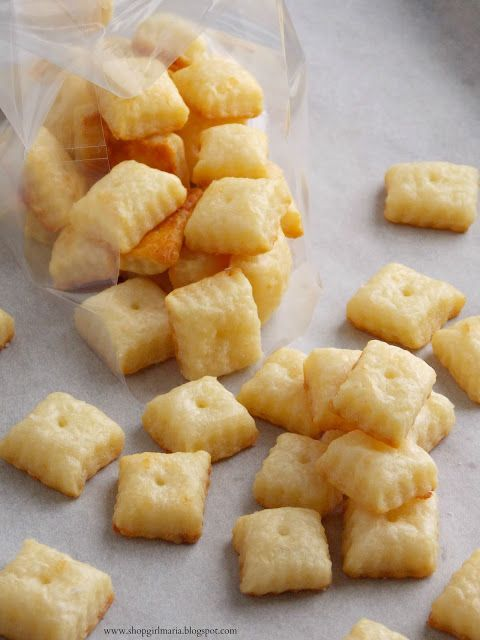 Homemade cheez its 3