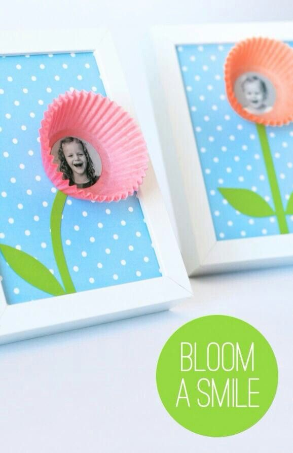 DIY] Cute Gift Idea for Teachers or Moms: Kids Photo Frame - Cute ...