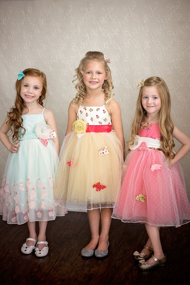 Easter dresses for girls by Magpie & Mabel