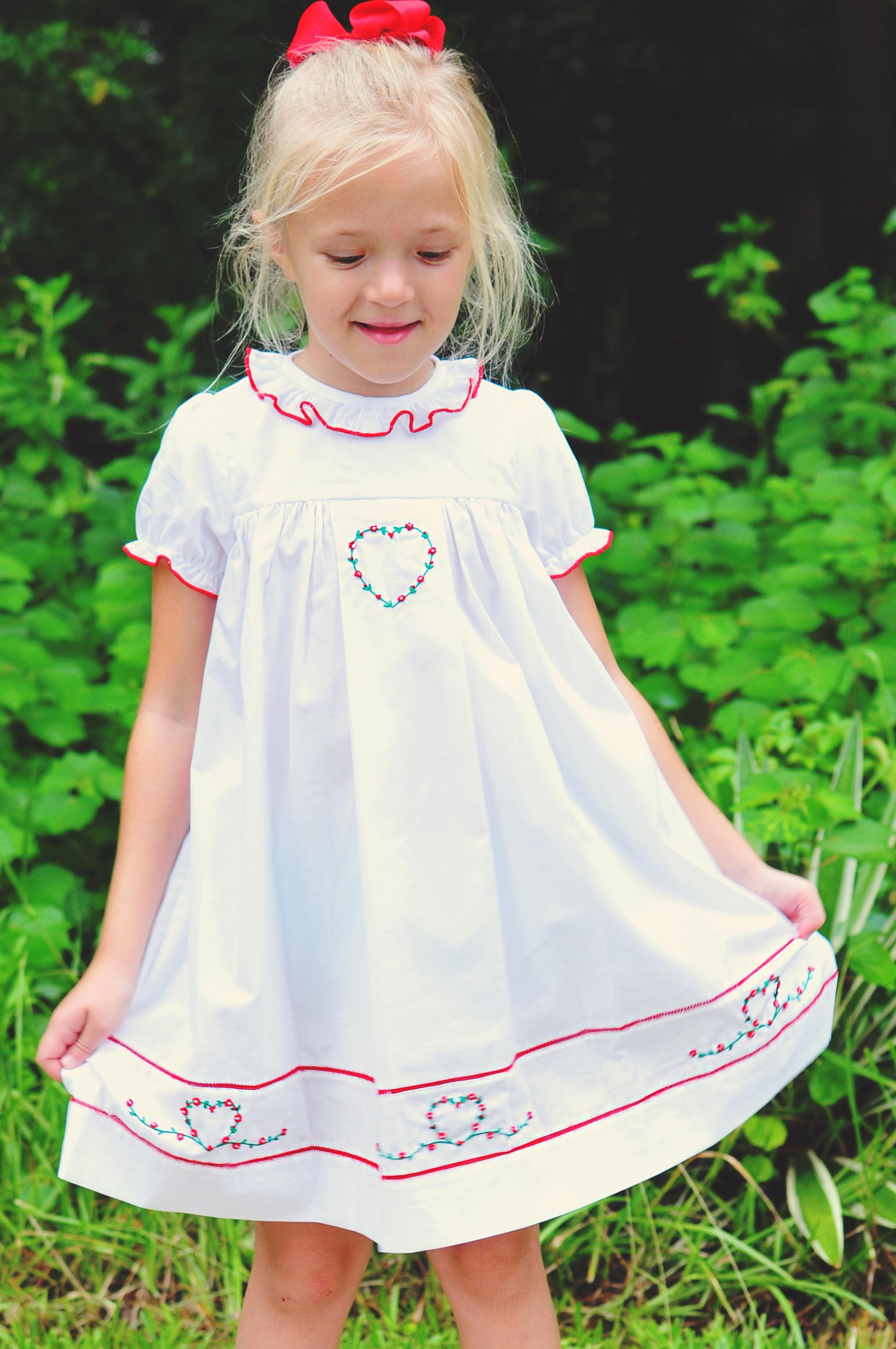 24ea598d5 Luli and Me Smocked Kids Dresses for Holidays - Cute Kids Finds