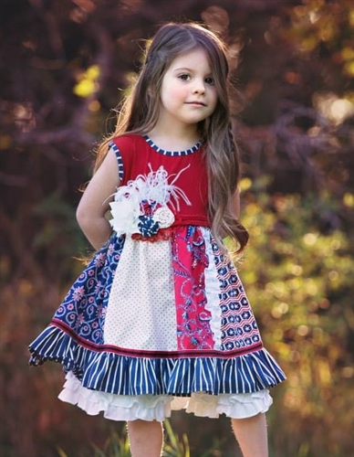 8378b02c46bf Get Ready for 4th of July with Cute Boutique Girls Clothing - Cute Kids  Finds
