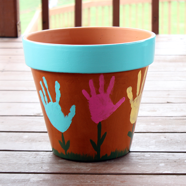 Handprint-Flower-Pot-by-We-Made-That-