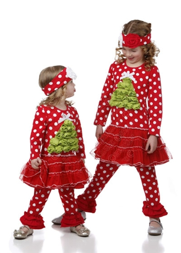 One Posh Kid - Falliday Christmas Dress Set
