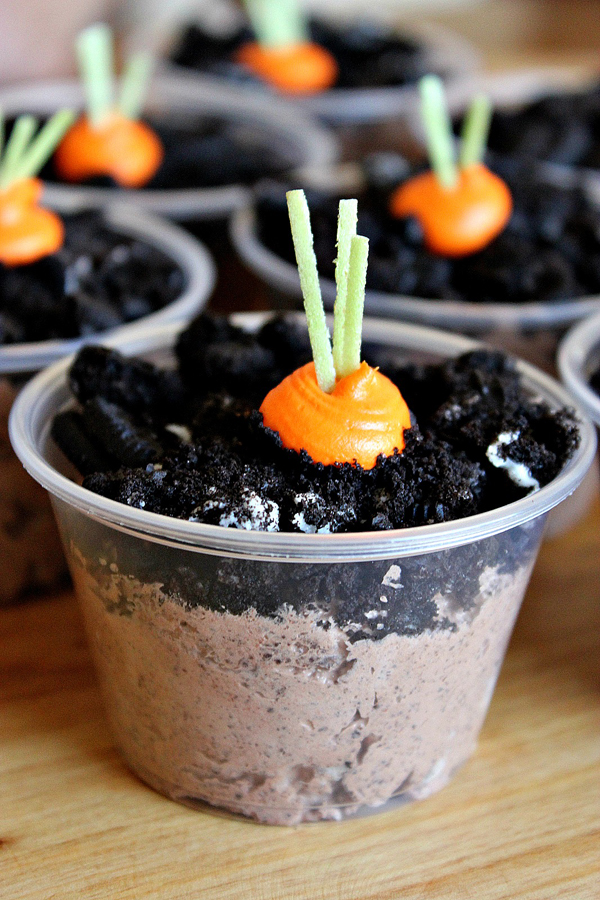 Carrot Patch Pudding Cup And Homemade Easter Treats For Kids Cute Finds