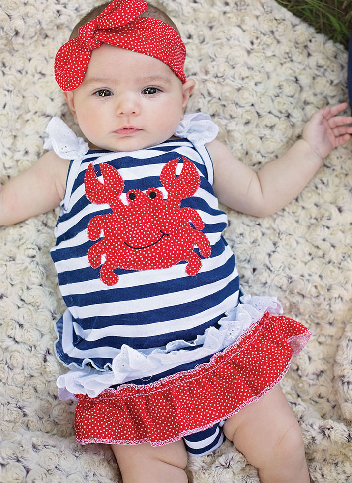 cute baby clothes by Haute Baby