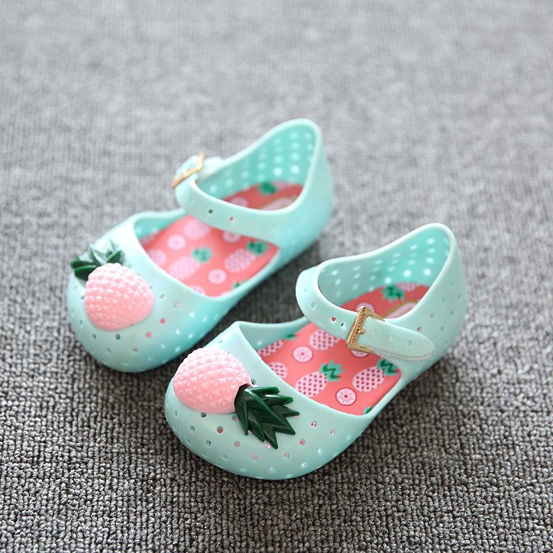 Mini Melissa Pineapple shoes