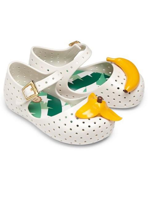 Mini melissa bananas shoes