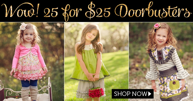 Black Friday Boutique Girls Clothing Doorbusters