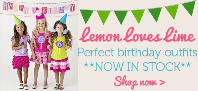 Lemon Loves Lime Spring 2014