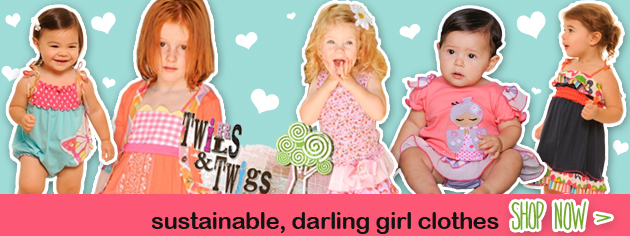 cute girlclothes, Twirls and Twigs girl clothes, eco-friendly girl clothes, kids clothing