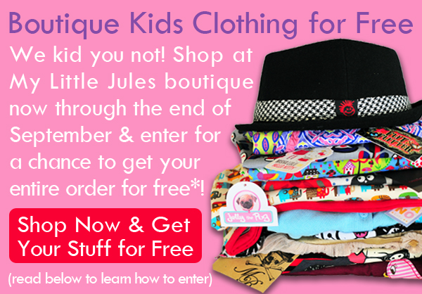 ... provided since the very launch of our online kids clothing boutique.