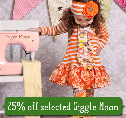 Save 25% on Selected Giggle Moon
