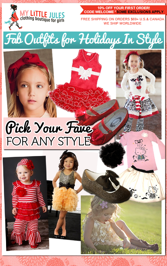 Girls Clothing Boutique: Holiday Outfits