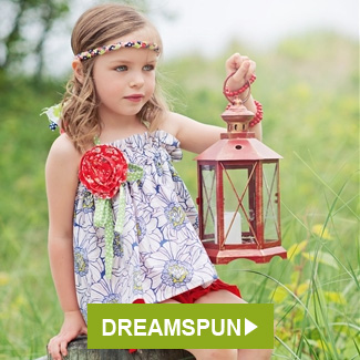 Dreamspun Posie Top and Ruffle Shorts