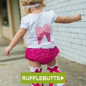 RuffleButts Blesses Angel Set