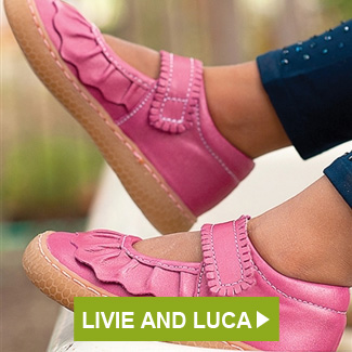 Livie and Luca Ruche Shoes Magenta