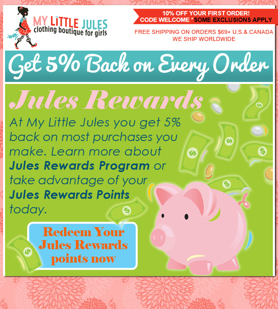 5% Back On Every Order: My Little Jules Boutique
