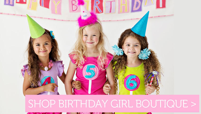 Shop cute birthday girl outfits!