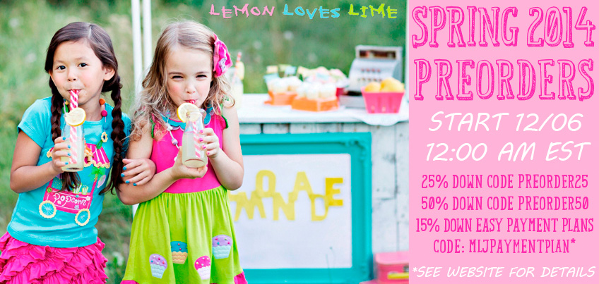 Lemon Loves Lime Spring 2014 Is Here
