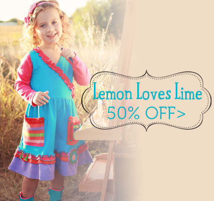 50% Off Lemon Loves Lime Fall 2013