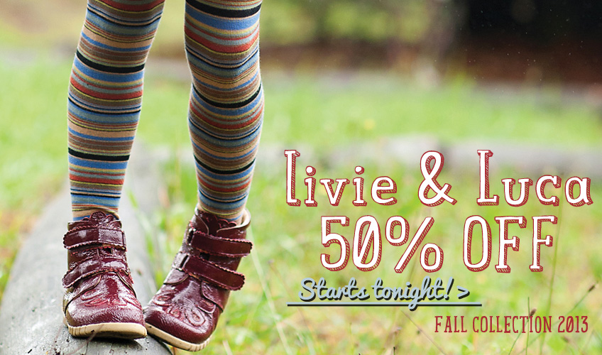 50% off Livie and Luca Fall 2013