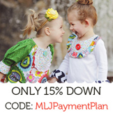 15% down MLJ Easy Payment Plans