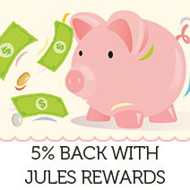 5% back with Jules Rewards