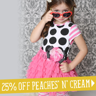 Peaches and Cream Sale