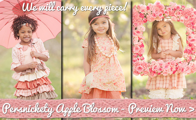 Persnickety Apple Blossom Preview
