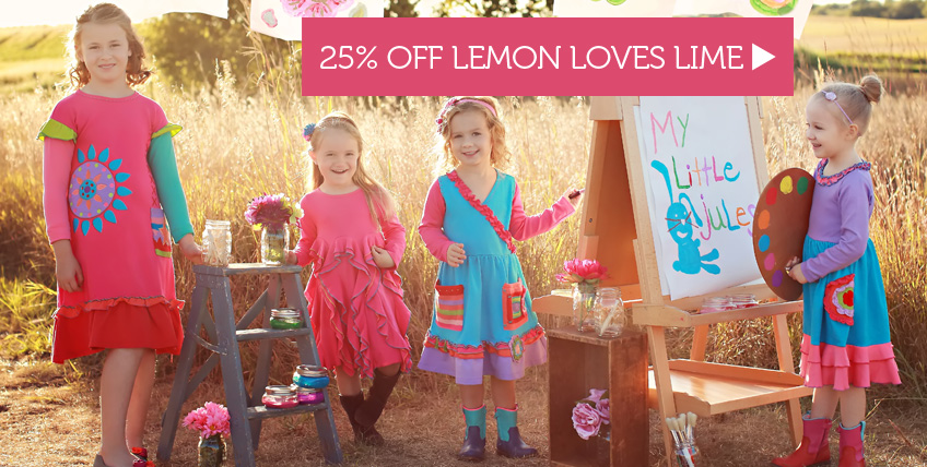 25% Off Lemon Loves Lime