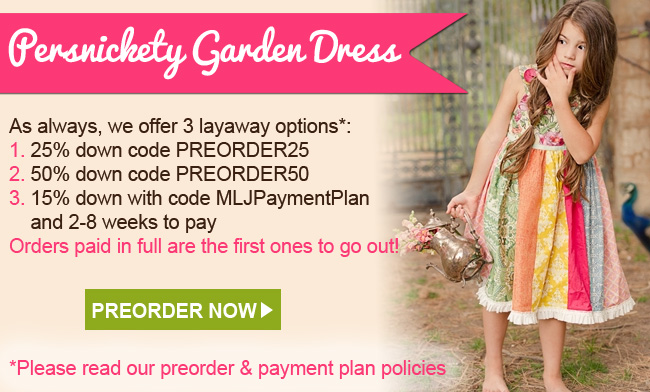 Persnickety Garden Dress