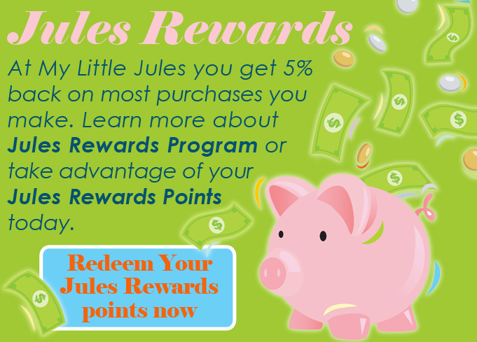 Jules Rewards - Discount on Kids Clothing