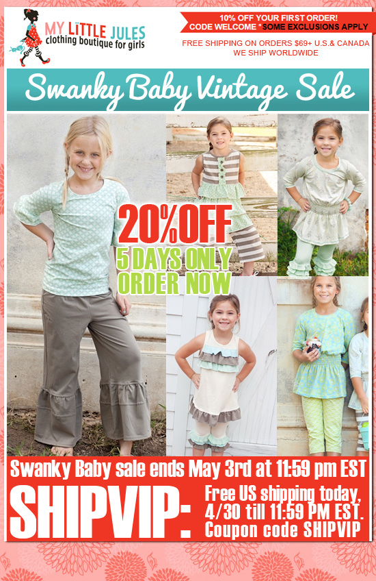 Swanky Baby Vintage Spring Sale