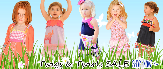 Twirls & Twigs Summer Sale