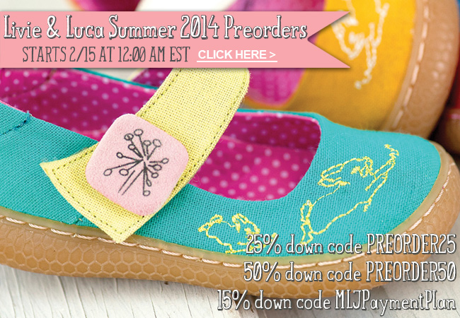 Livie and Luca Summer 2014 Launch