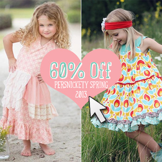 Persnickety 60% Off Sale