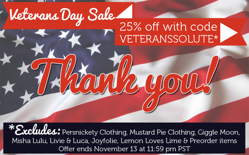 25% OFF Veteransa Day Sale. Code: VETERANSSOLUTE