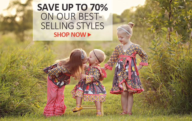 Boutique Girls Clothing Clearance - 70% Off