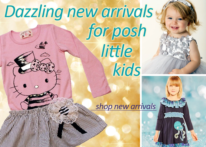 New Arrivals for Snazzy Kids